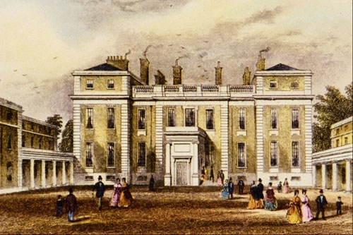 marlborough house by thomas hosmer shepherd