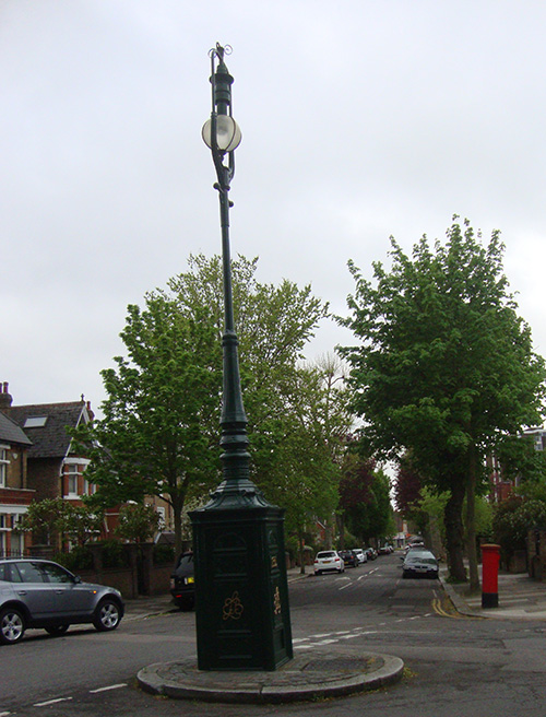 ealing lamp post